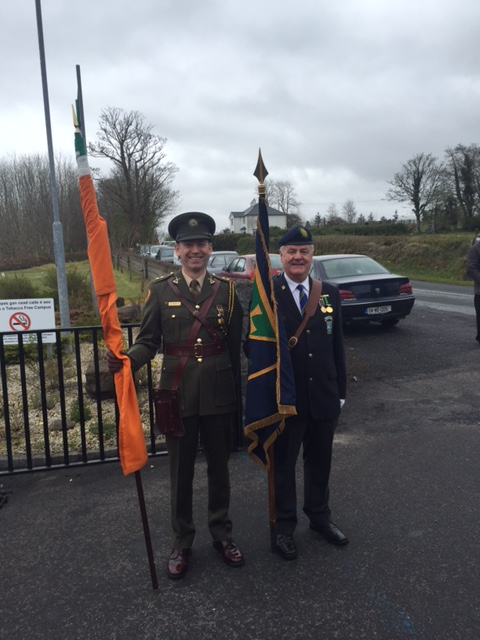 916 Commemoration, Banada, Co Sligo, Sunday 1st May 2016.