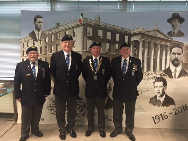 1916 Commemorative Event, Carrick-on-Shannon, Friday 20th May 2016.