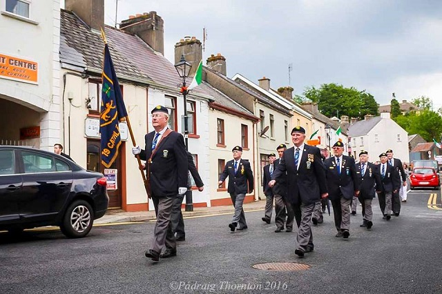 Sean Mac Diarmada Street Renaming Ceremony, Manorhamilton 29th May 2016